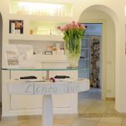 foto arredi centri estetici parrucchieri negozi habitat unico raffinato pubblicità stampa web online