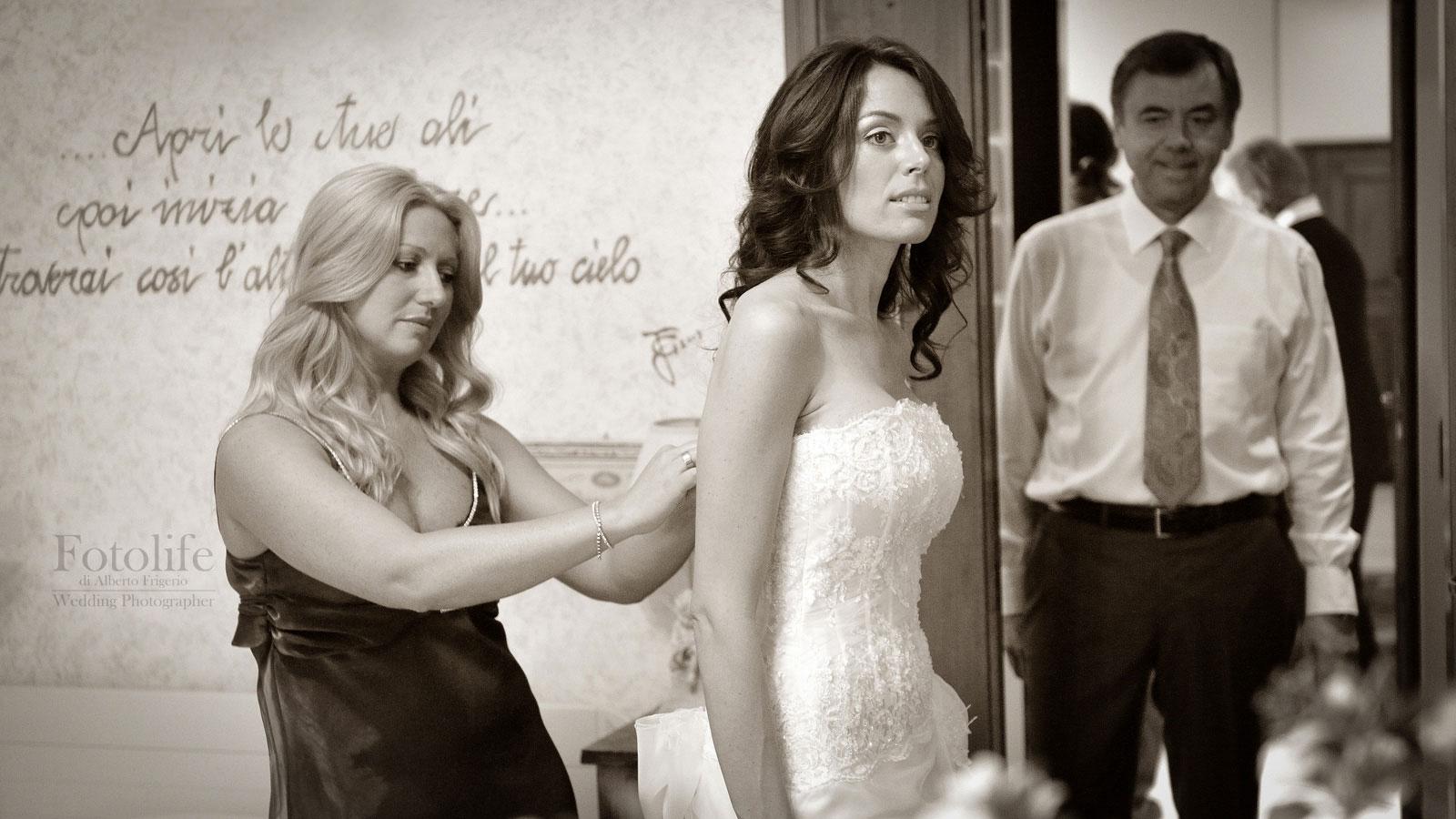 fotografo la sposa matrimonio como