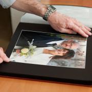 Foto artigiano della impaginazione tradizionale album digitale di qualità professionale