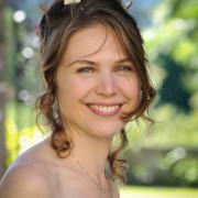 foto ritratto sposa viso sorridente allegro gioioso reportage nozze matrimonio location Lecco Como Varese Brianza Monza Milano