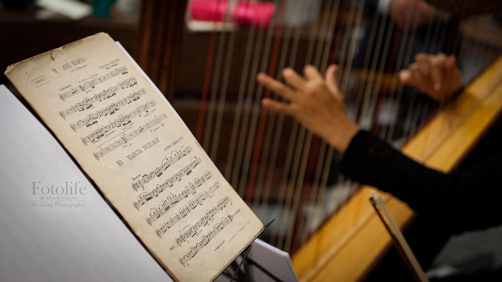 Foto immagini musica nozze Como