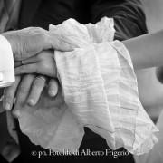 Foto di matrimonio Moltrasio Hotel Imperialino particolare preghiera