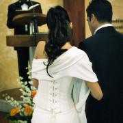 Foto celebrazione matrimonio religioso civile como varese lecco sposi anelli felicità