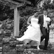 foto sposi nozze matrimonio in bianco e nero elaborazione postproduzione di qualità e impaginazione new look album classic tradizionale digitale lago di como lecco varese milano