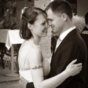 Foto nozze Como day ballo sposi reportage