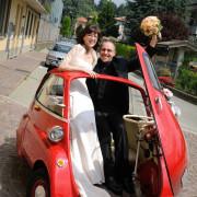 Foto di matrimonio Como reportage fotografico allegria felicità gioia naturale