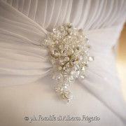 Foto di nozze Como abito sposa abito sposo bomboniere Villa Flori Cernobbio Lake Como