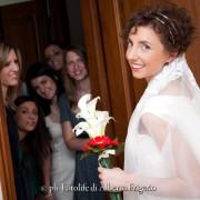 Foto di matrimonio Como sposa con le amiche