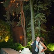 Foto di matrimonio con fuochi d'artificio al Ristorante Le Querce di Cantù Como Lecco Brianza